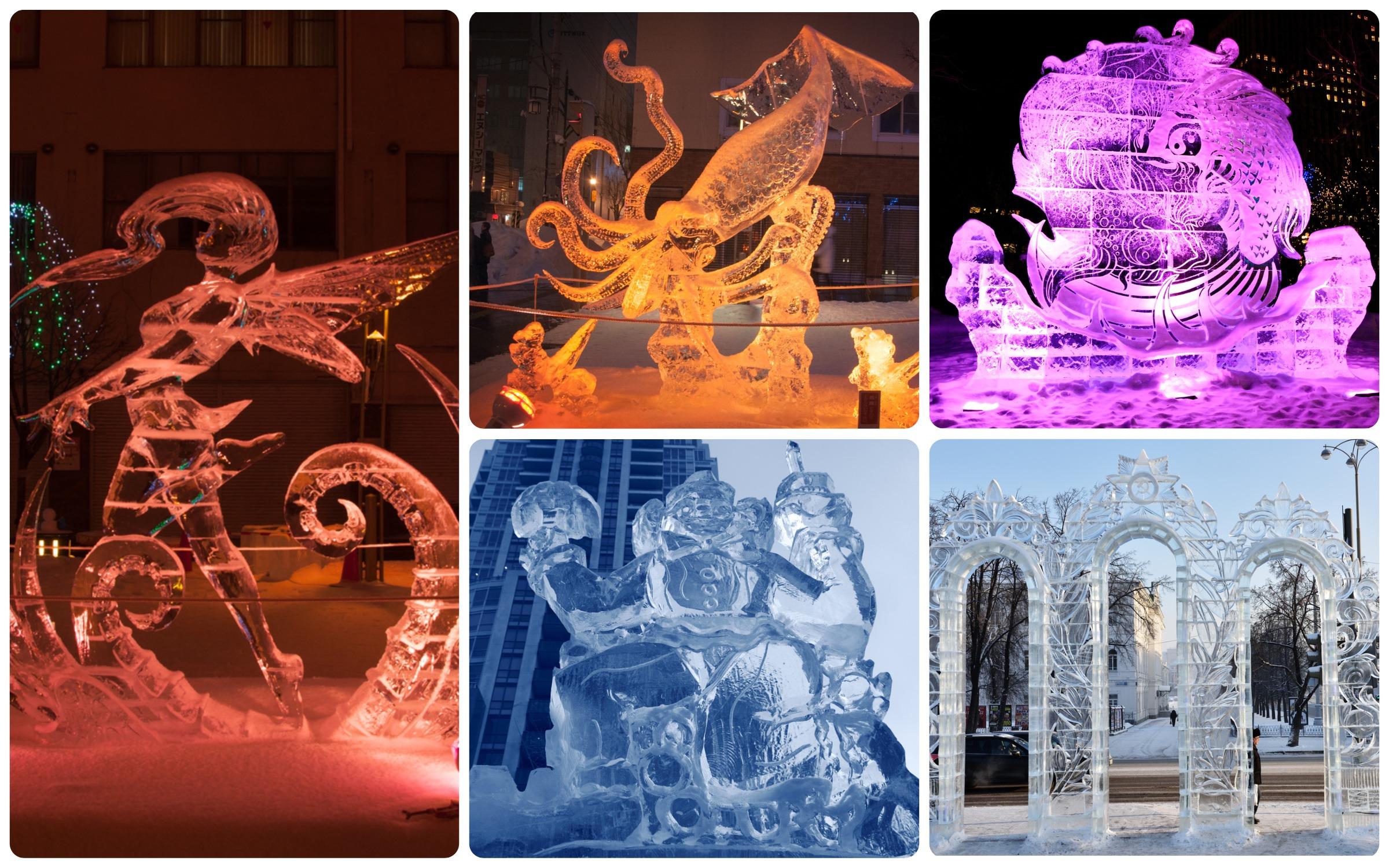 Фестиваль ледяных и снежных скульптур