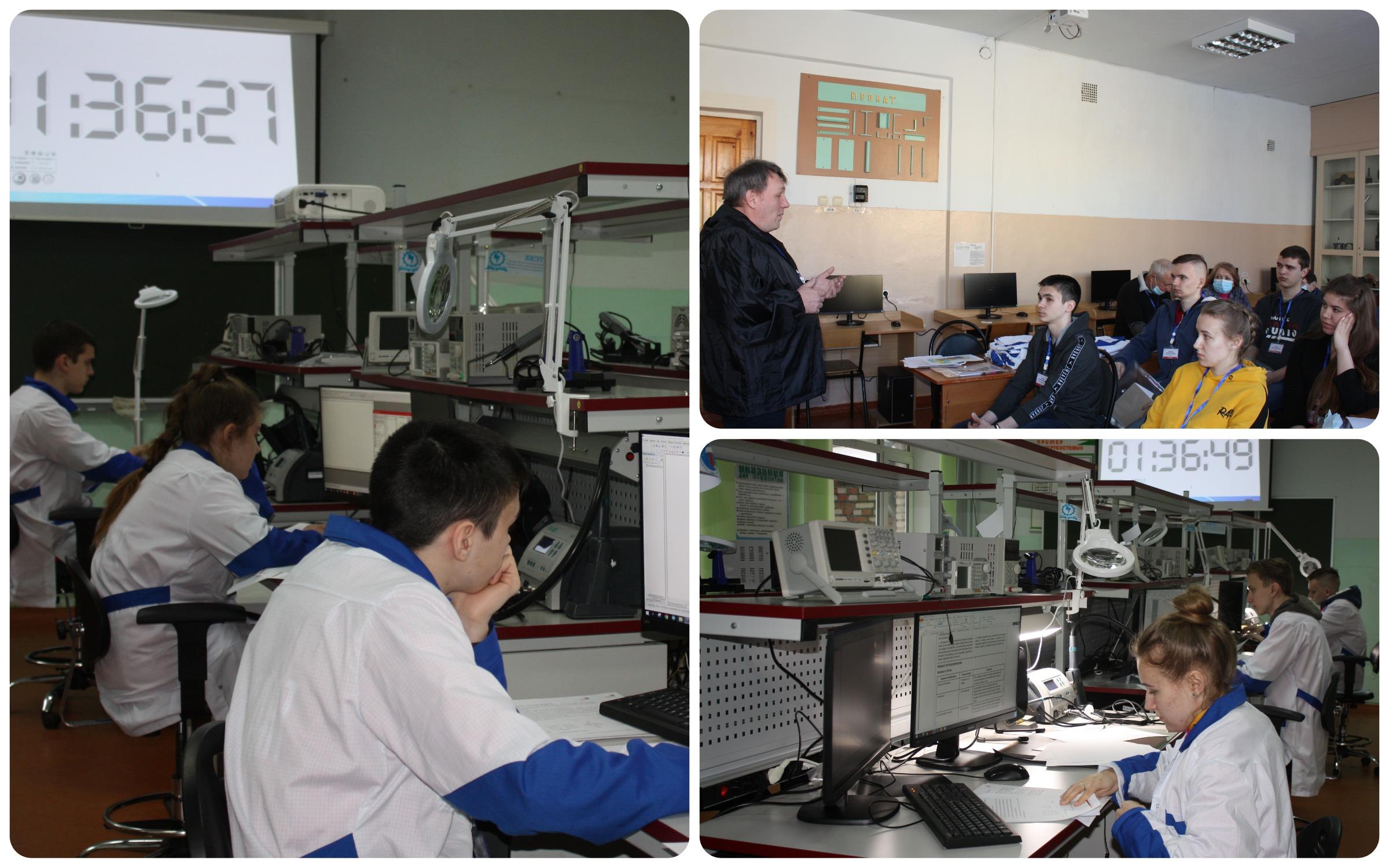 В Кузнецком колледже электронных технологий проходит VIII региональный чемпионат профессионального мастерства «Молодые профессионалы» (WorldSkills Russia)