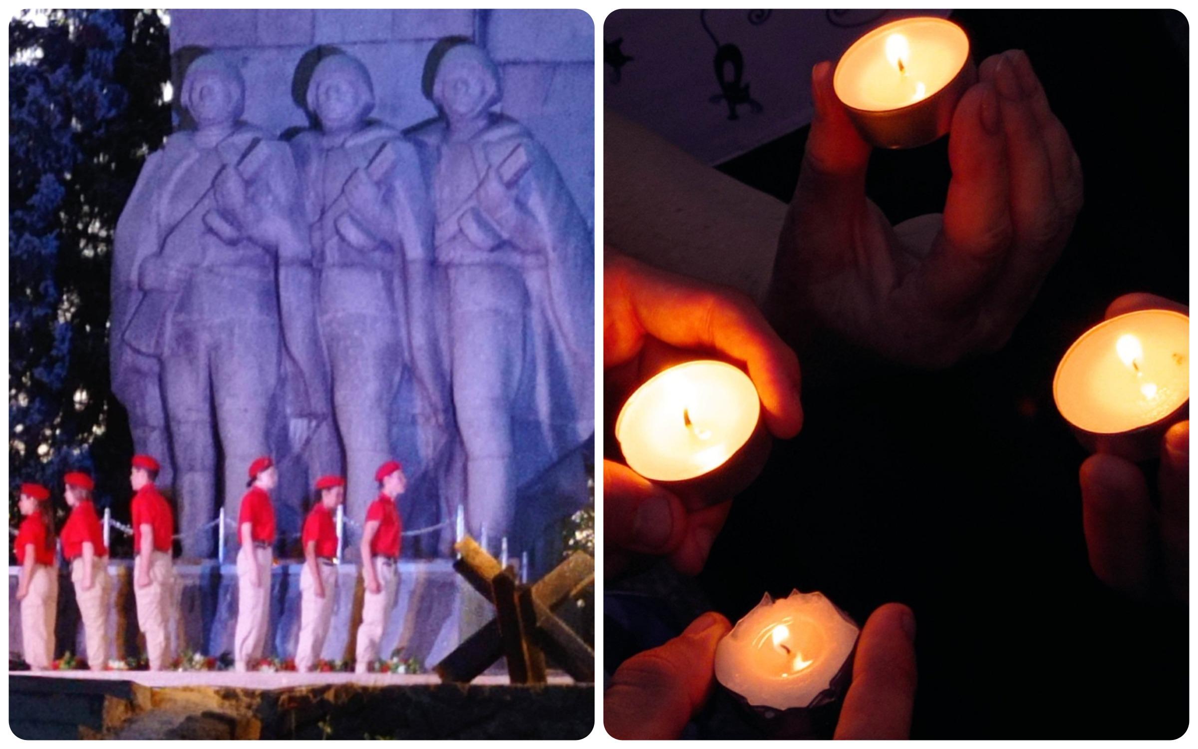 Свеча как память о войне